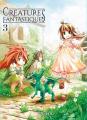 Couverture Créatures fantastiques, tome 3 Editions Komikku 2019