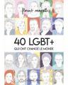 Couverture 40 LGBT+ qui ont changé le monde Editions Lapin 2019