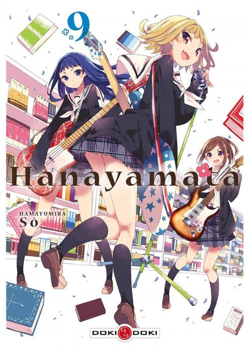 Couverture Hanayamata, tome 09