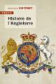 Couverture Histoire de l'Angleterre Editions Tallandier (Texto) 2019