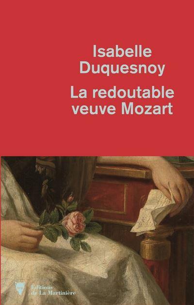 Couverture La redoutable veuve Mozart