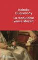 Couverture La redoutable veuve Mozart  Editions de La martinière 2019