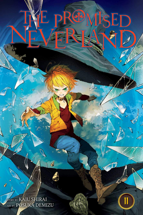 Couverture The promised neverland, tome 11