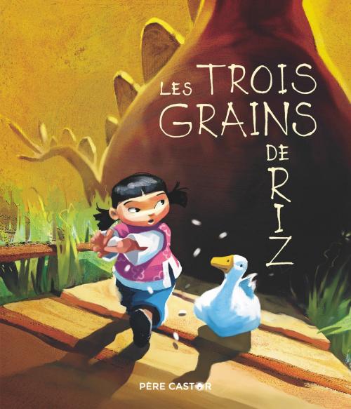Couverture Les trois grains de riz