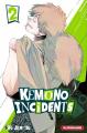Couverture Kemono Incidents, tome 02 Editions Kurokawa (Shônen) 2019