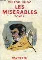Couverture Les Misérables, abrégé, tome 1 Editions Hachette (Bibliothèque de la jeunesse) 1950