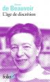 Couverture L'âge de discrétion Editions Folio  (2 €) 2018