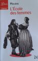 Couverture L'Ecole des femmes Editions Librio (Théâtre) 2011