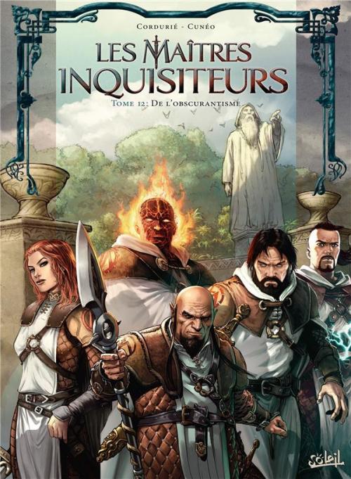 Couverture Les maîtres inquisiteurs, tome 12 : De l'obscurantisme