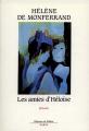 Couverture Les amies d'Héloïse Editions de Fallois 1990
