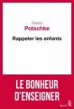 Couverture Rappeler les enfants Editions Seuil 2019