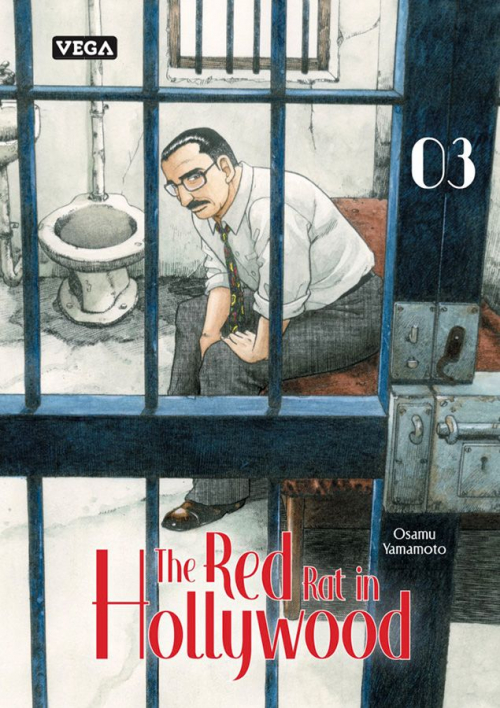 Couverture The Red Rat in Hollywood, tome 3