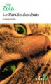 Couverture Le Paradis des chats et autres textes Editions Folio  (2 €) 2019