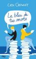 Couverture Le bleu de tes mots Editions Pocket (Jeunesse) 2019