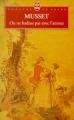 Couverture On ne badine pas avec l'amour Editions Le Livre de Poche (Théâtre de poche) 1999