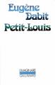 Couverture Petit-Louis Editions Gallimard  (L'imaginaire) 1988