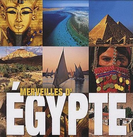 Couverture Merveilles d'Égypte