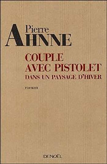 Couverture Couple avec pistolet dans un paysage d'hiver