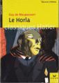 Couverture Le Horla Editions Hatier (Classiques - Oeuvres & thèmes) 2010