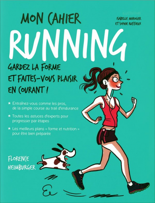 Couverture Mon cahier : Running