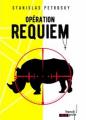 Couverture Opération Requiem Editions French pulp (Polar) 2019