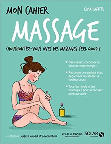 Couverture Mon cahier : Massage
