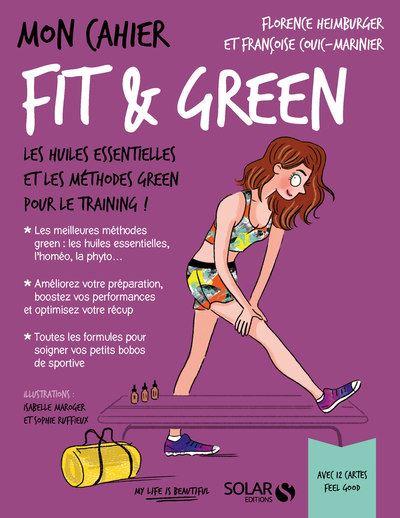 Couverture Mon cahier : Fit & green