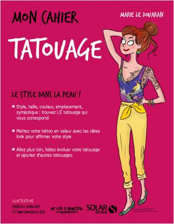 Couverture Mon cahier : Tatouage