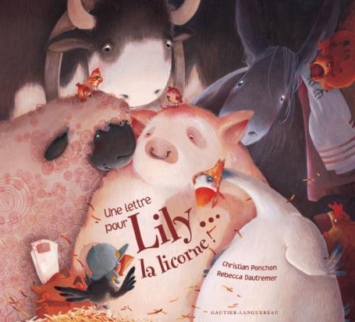 Couverture Une lettre pour Lily... la licorne !