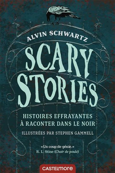 Couverture Scary Stories to tell in the Dark
