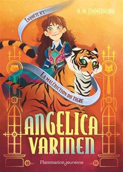 Couverture Angelica Varinen, tome 4 : La malédiction du tigre