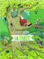 Couverture Hubert Reeves nous explique la forêt Editions Le Lombard 2018