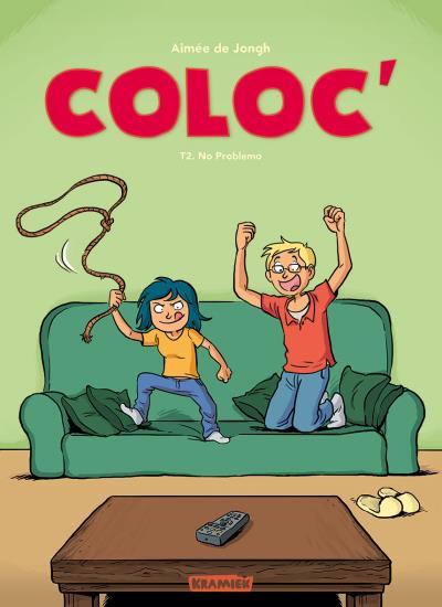 Couverture Coloc', tome 2 : No problemo