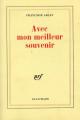Couverture Avec mon meilleur souvenir Editions Gallimard  (Blanche) 1984