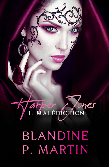 Couverture Harper Jones, tome 1 : Malédiction