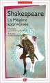 Couverture La Mégère apprivoisée Editions Flammarion (GF - Bilingue) 2016