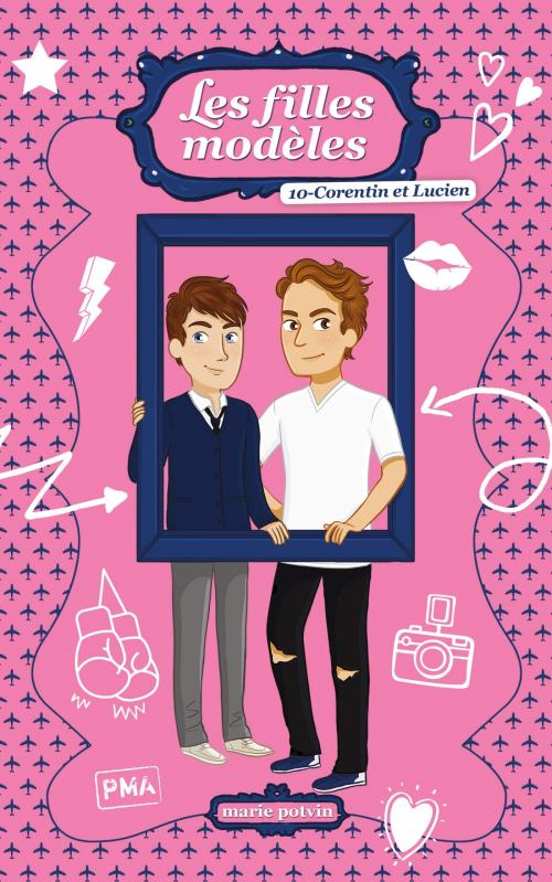 Couverture Les Filles modèles, tome hs : Corentin et Lucien