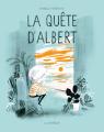 Couverture La quête d'Albert Editions de la Pastèque 2019