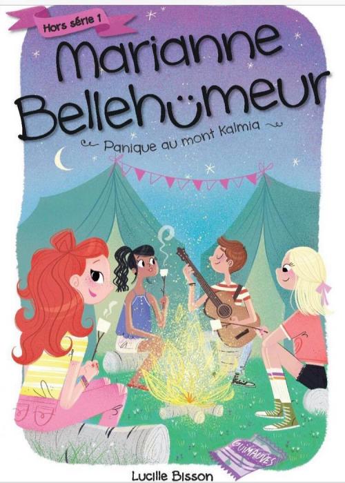 Couverture Marianne Bellehumeur, hors série 1 : Panique au mont Kalmia