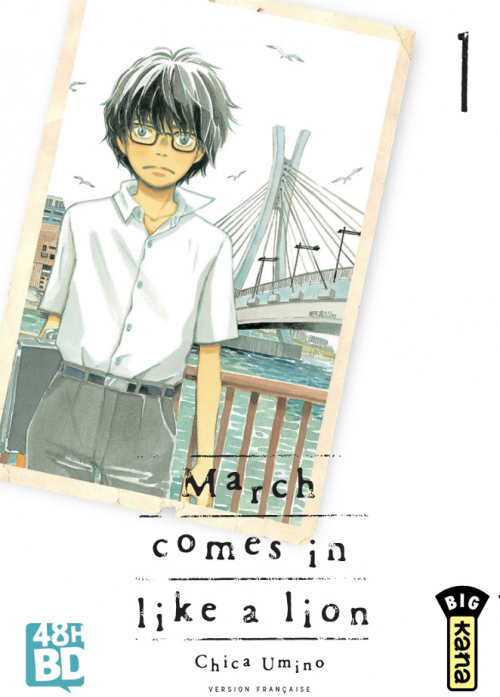 Couverture March comes in like a lion, tome 01