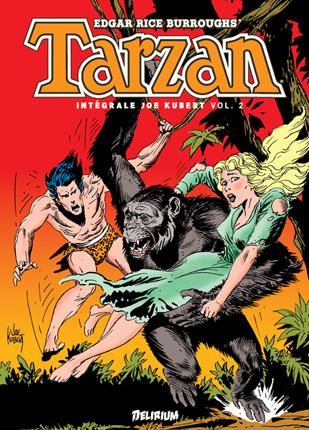 Couverture Tarzan : Intégrale Volume 2
