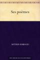 Couverture Poésies Editions Une oeuvre du domaine public 2011