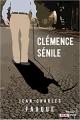 Couverture Clémence sénile Editions French pulp (Polar) 2019