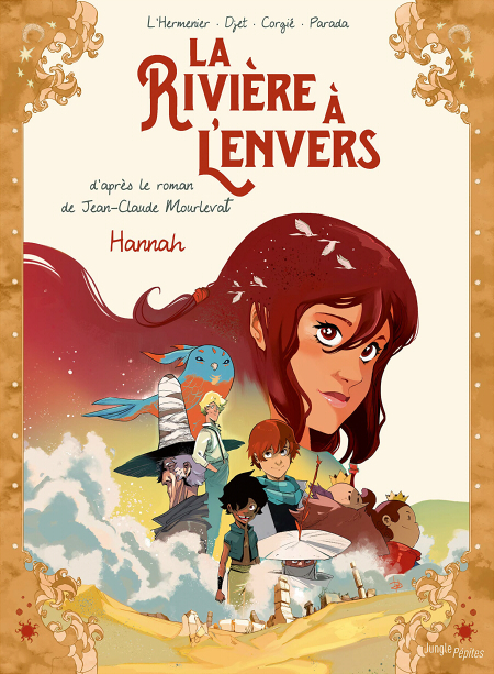 Couverture La rivière à l'envers (BD), tome 2 : Hannah