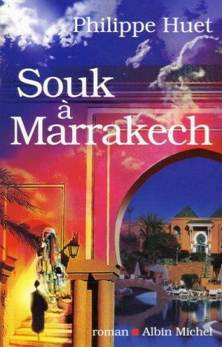 Couverture Souk à Marrakech