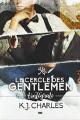 Couverture Le Cercle des Gentlemen, intégrale Editions Reines-Beaux 2019