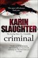 Couverture Criminel Editions Arrow Books 2012