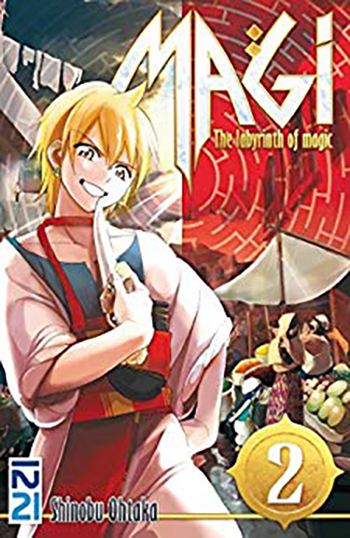Couverture Magi : The Labyrinth of Magic, tome 02