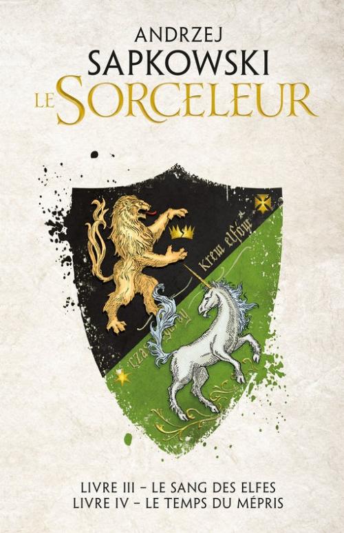 Couverture Sorceleur, double, tome 2