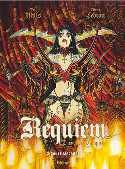 Couverture Requiem Chevalier Vampire, tome 02 : Danse Macabre
